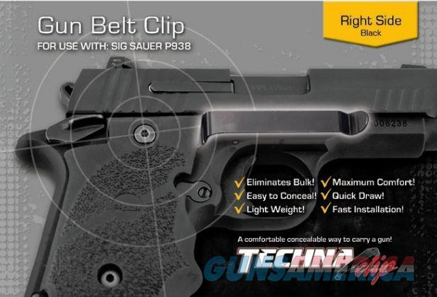 Techna Clip Sig Sauer P938 Belt Clip Right P938-BR  Non-Guns > Holsters and Gunleather > Concealed Carry