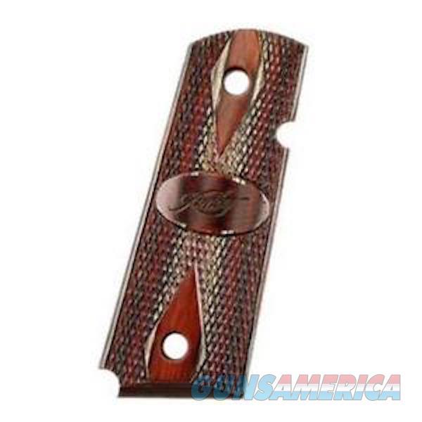 Kimber Ultra Elite Grips Charcoal/Ruby Compact  Non-Guns > Gunstocks, Grips & Wood