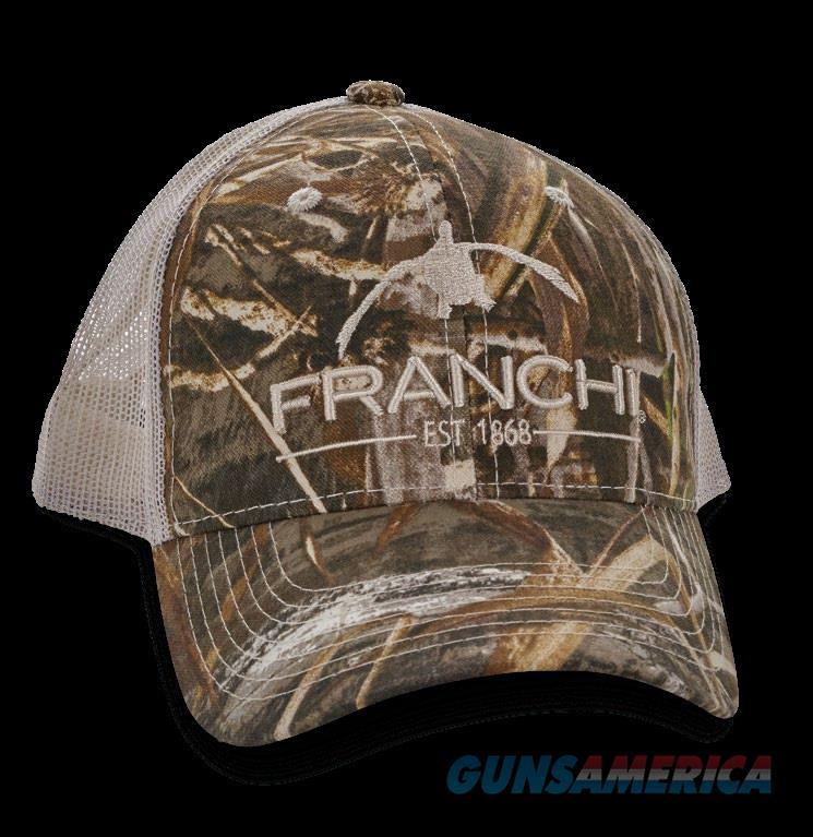 Franchi Logo Trucker Hat Cap Max 5 Camo  Non-Guns > Hunting Clothing and Equipment > Clothing > Hats