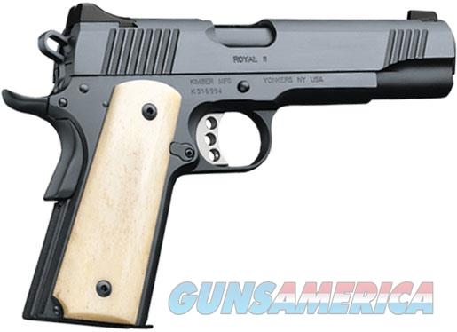 Kimber Royal II 45 Acp 3200263 NIB Bone Grip Blued  Guns > Pistols > Kimber of America Pistols > 1911