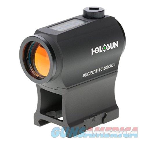 Holosun 403C Elite Green Dot Sight 2 MOA NEW  Non-Guns > Scopes/Mounts/Rings & Optics > Tactical Scopes > Red Dot