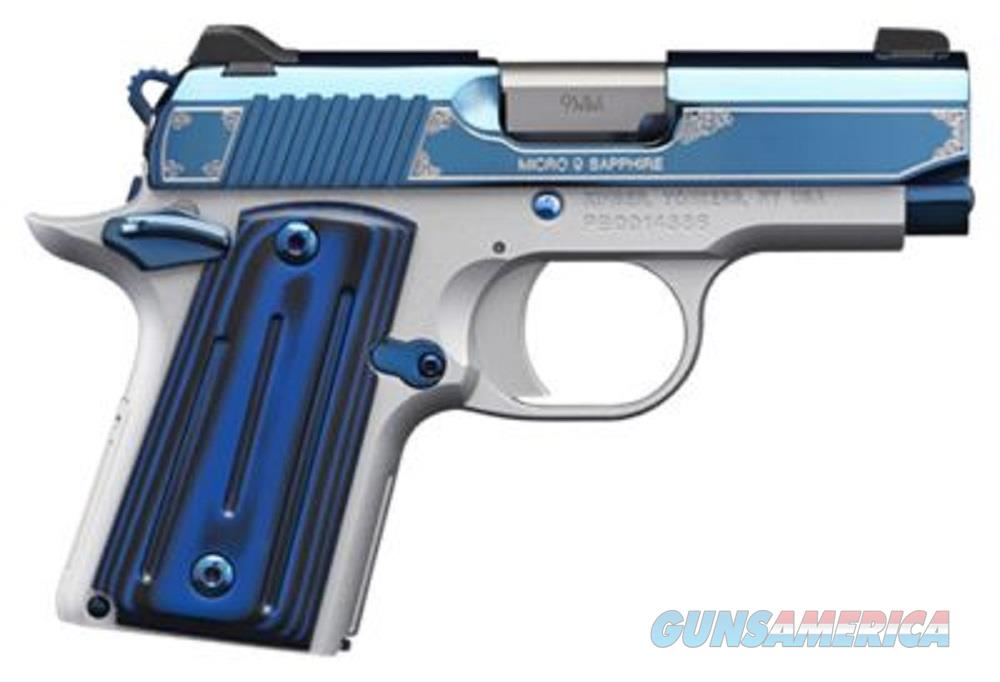 "Kimber Micro Sapphire 9 MM 3300111 NIB 9MM 3"" BBL  Guns > Pistols > Kimber of America Pistols > Micro 9"