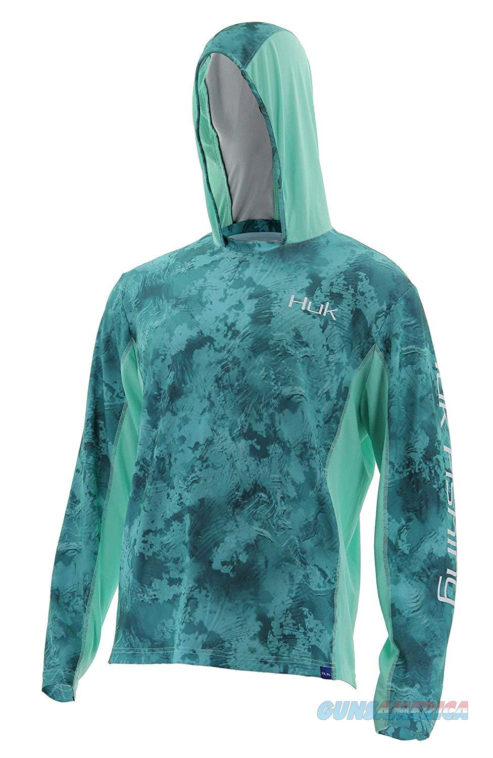 Huk Icon Camo Hoodie Outgoing Tide XL  Non-Guns > Hunting Clothing and Equipment > Clothing > Shirts