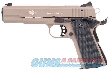 """ATI GSG 1911 22 LR 5"""" TBBL TAN NIB GERG2210M1911T  Guns > Pistols > G Misc Pistols"""