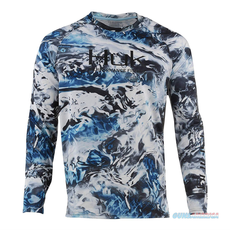 Huk Pursuit Camo Shirt Glacier XXL  Non-Guns > Hunting Clothing and Equipment > Clothing > Shirts