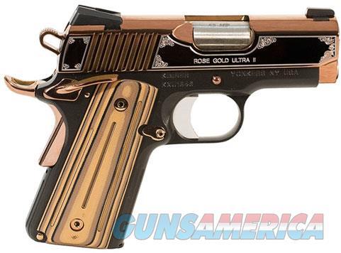 Kimber Rose Gold Ultra II 9mm NIB 9 MM 3200372  Guns > Pistols > Kimber of America Pistols > 1911