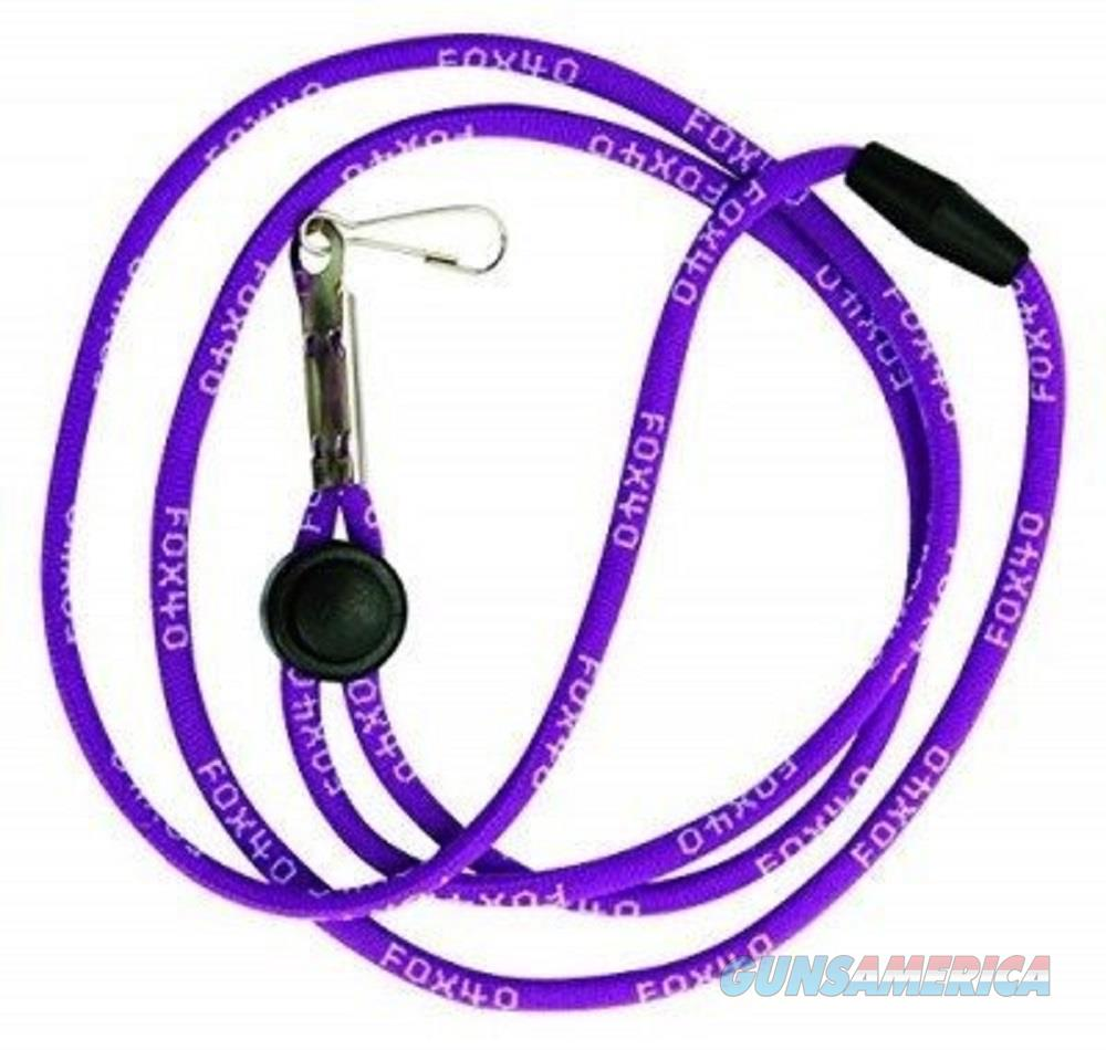 "Fox 40 Breakaway Neck Lanyard, Purple - 3/16"" Diameter 100-0801  Non-Guns > Miscellaneous"