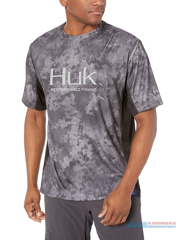 Huk Icon Camo SS Shirt Night Vision LG  Non-Guns > Hunting Clothing and Equipment > Clothing > Shirts