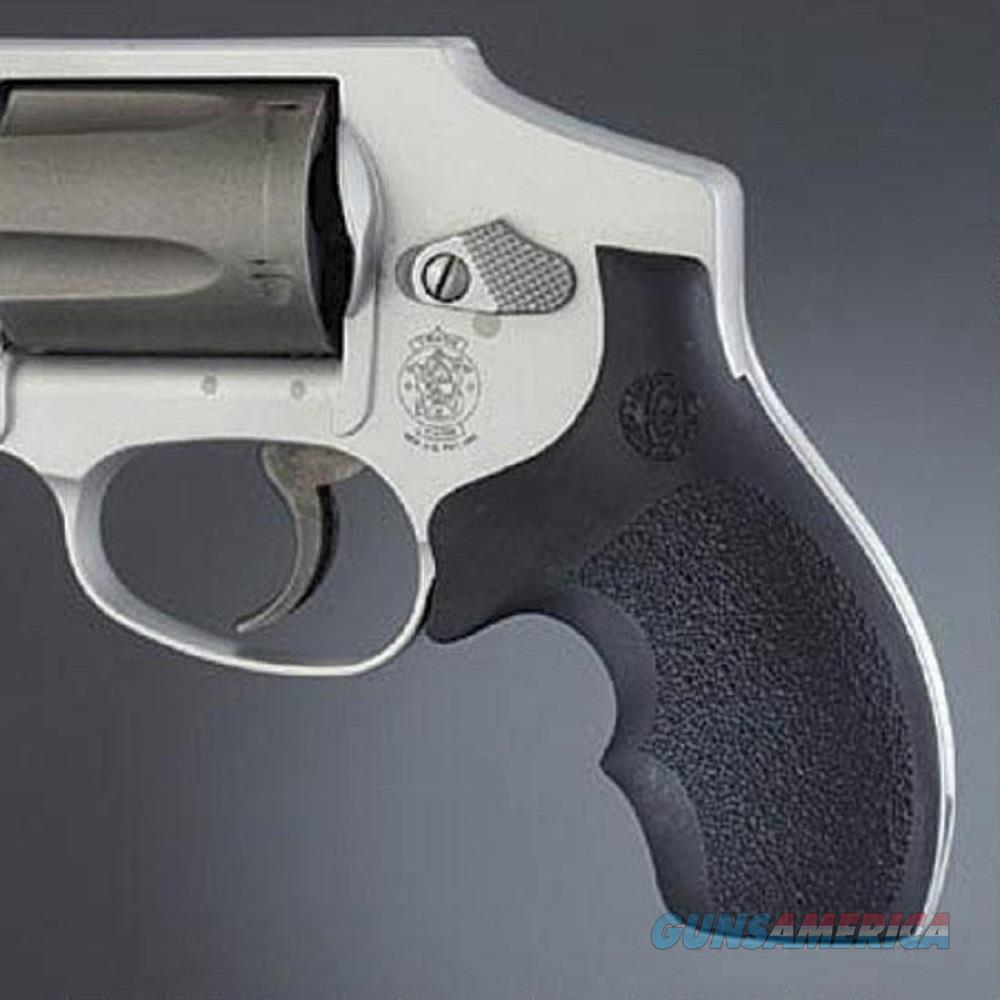 Hogue Bantam RBR Grip S&W J FR Rnd Butt BLK 61000  Non-Guns > Gun Parts > Grips > Smith & Wesson
