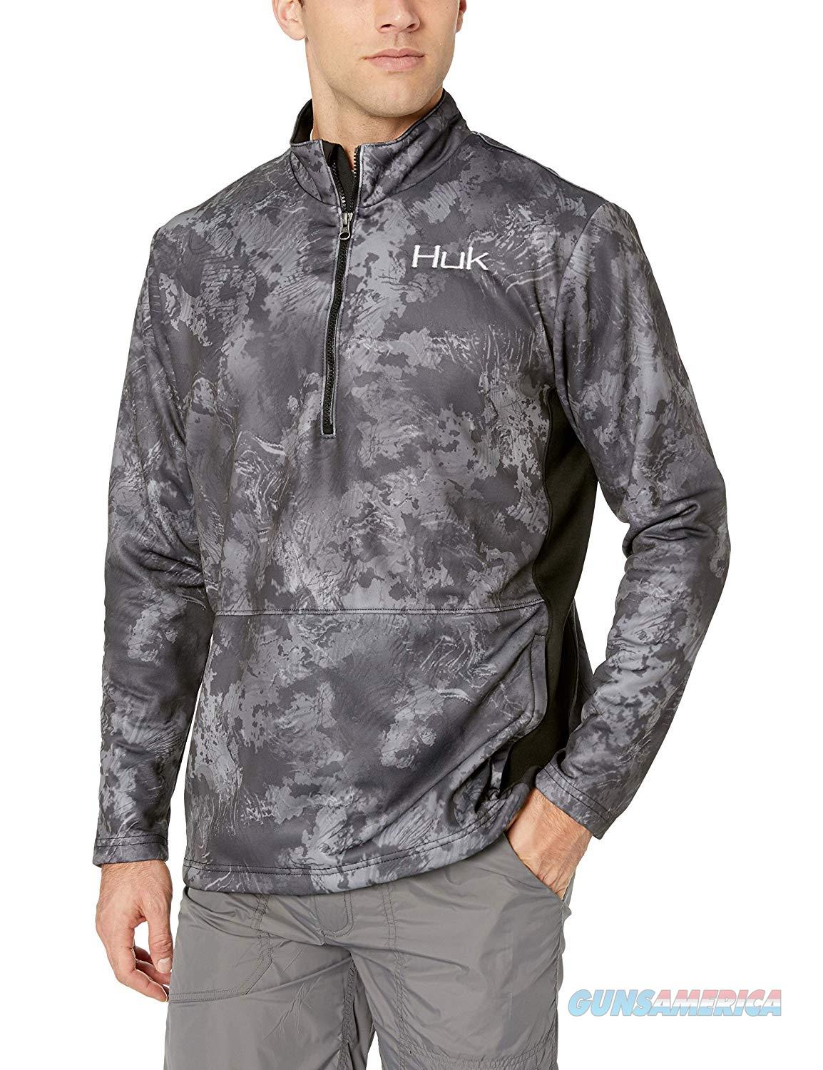 Huk Tidewater 1/4 Zip Night Vision MD  Non-Guns > Hunting Clothing and Equipment > Clothing > Shirts