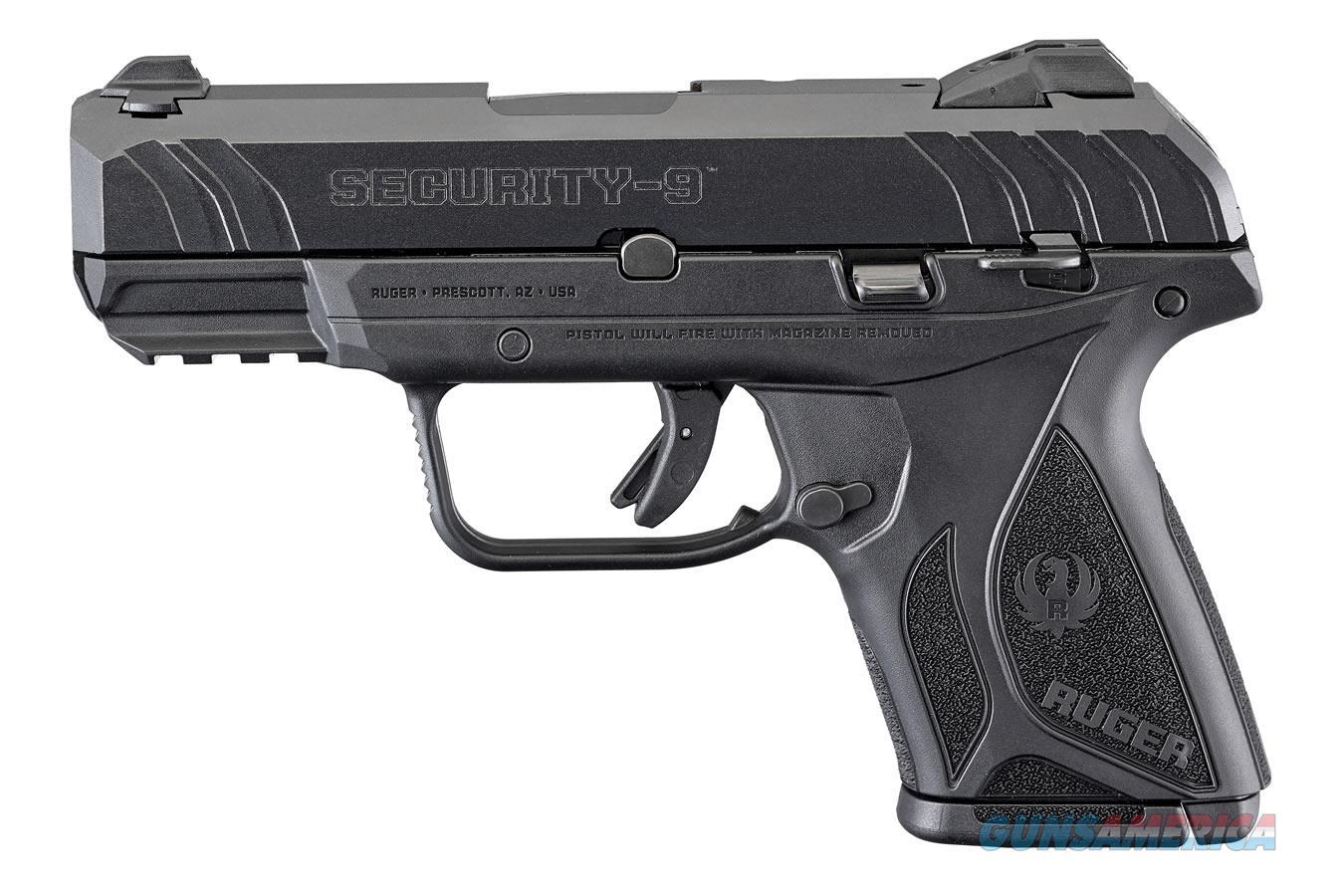 "Ruger Security9 Compact 9 MM 3.42""BBL 03818 NIB  Guns > Pistols > Ruger Semi-Auto Pistols > Security 9"