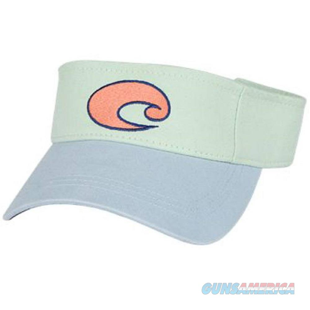 Costa Cotton Visor Carolina Blue One Size  Non-Guns > Hunting Clothing and Equipment > Clothing > Hats