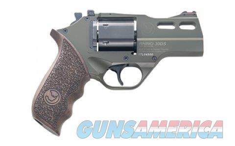 """Chiappa Rhino 30DS 357 Mag OD Green NIB 340.285 3""""  Guns > Pistols > Chiappa Pistols & Revolvers > Rhino Models"""