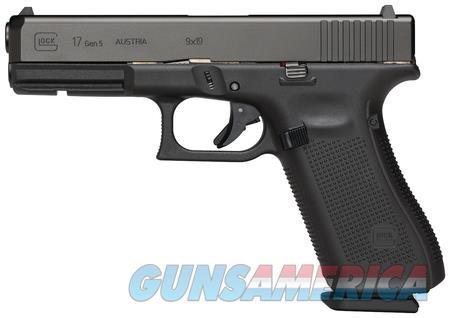 """Glock 17 Gen 5 PA1750201 NIB 9 MM 4.49"""" BBL 10+1  Guns > Pistols > Glock Pistols > 17"""
