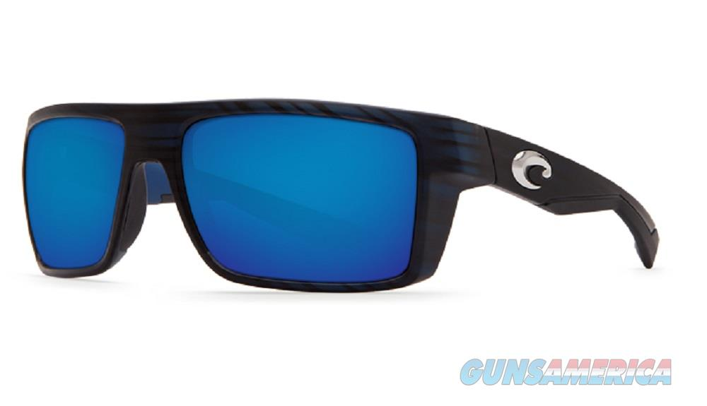 Costa Del Mar Motu Sunglasses Black Teak Blue 580P  Non-Guns > Miscellaneous