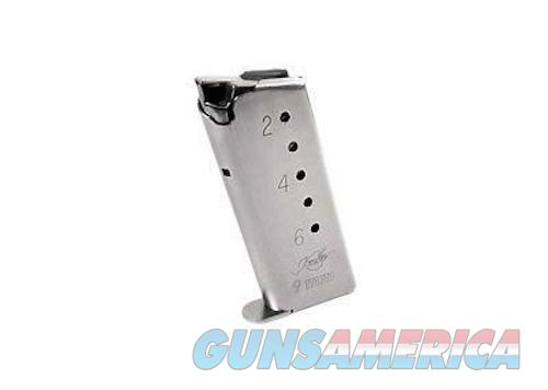 Kimber Solo 9mm 6 Round Magazine Stainless 1200037  Non-Guns > Magazines & Clips > Pistol Magazines > Other