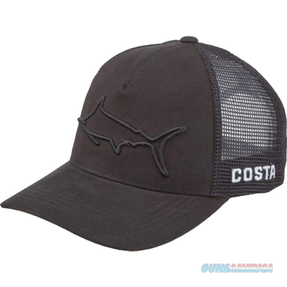 Costa Stealth Marlin Trucker Hat Black  Non-Guns > Hunting Clothing and Equipment > Clothing > Hats