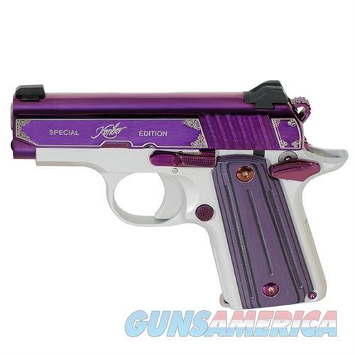 "Kimber Micro Amethyst 380 Acp 3300160 NIB 2.75""BBL  Guns > Pistols > Kimber of America Pistols > Micro"