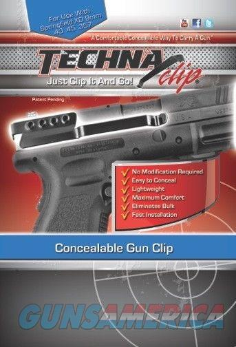 Techna Clip Concealable Gun Clip Springfield  Non-Guns > Holsters and Gunleather > Concealed Carry