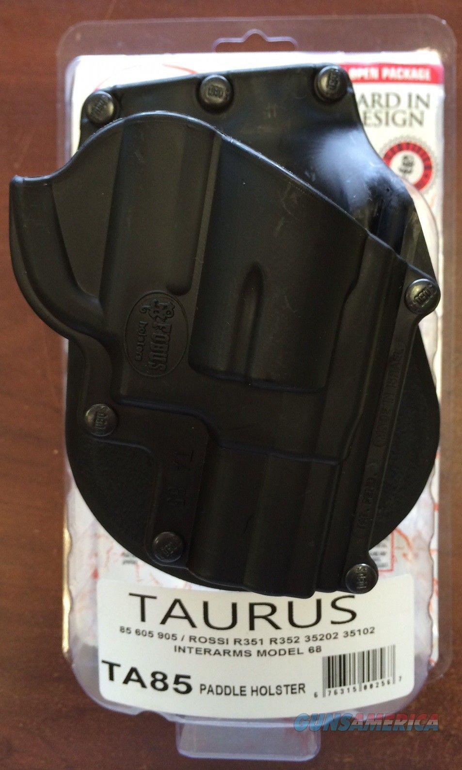 Fobus Paddle Holster Taurus 85/605/905 Rossi R351  Non-Guns > Holsters and Gunleather > Revolver
