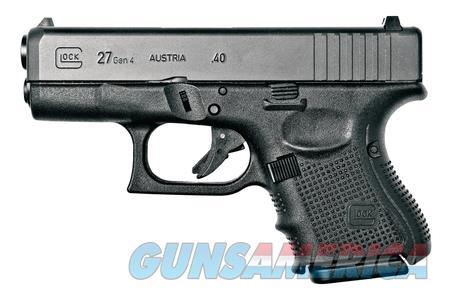"Glock 27 Gen 4 PG2750201 NIB 40 S&W 3.42"" BBL BLK  Guns > Pistols > Glock Pistols > 26/27"