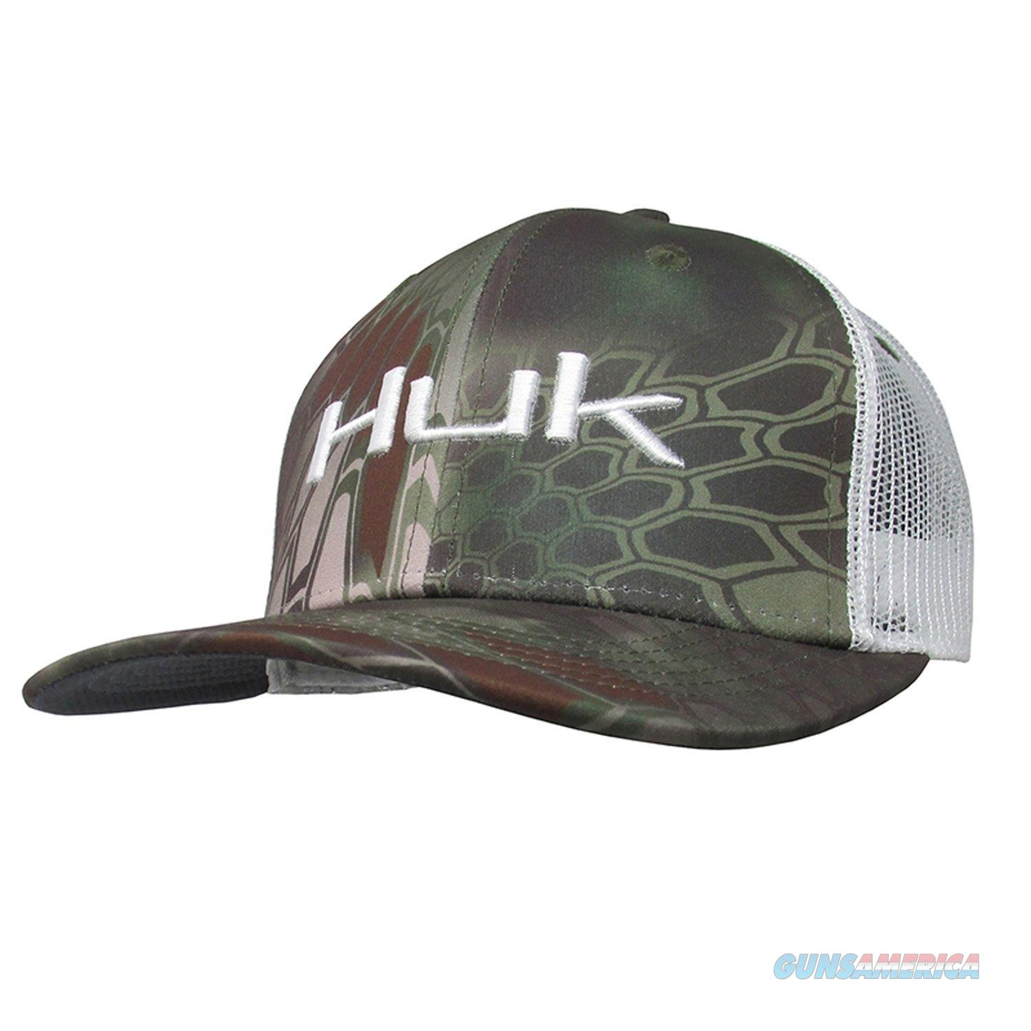 Huk Kryptek Logo Trucker Cap Mandrake  Non-Guns > Hunting Clothing and Equipment > Clothing > Hats