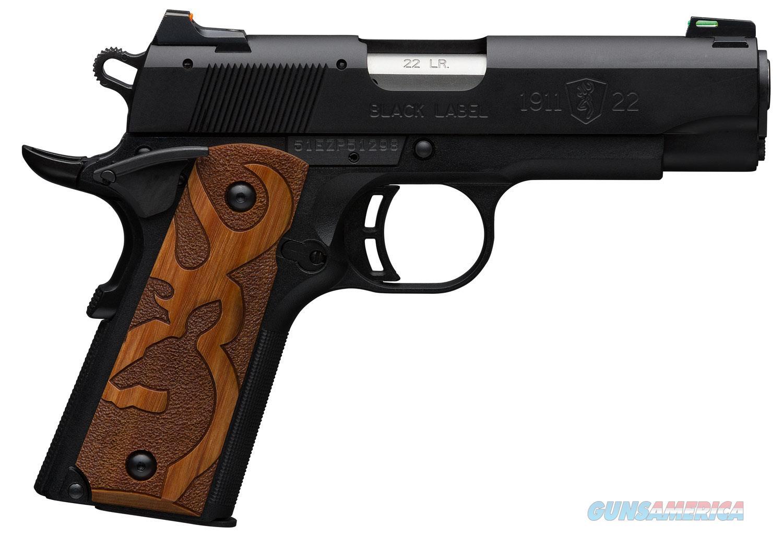 "Browning 1911-22 BL 22 LR 4.25"" BBL NIB 051871490  Guns > Pistols > Browning Pistols > Other Autos"