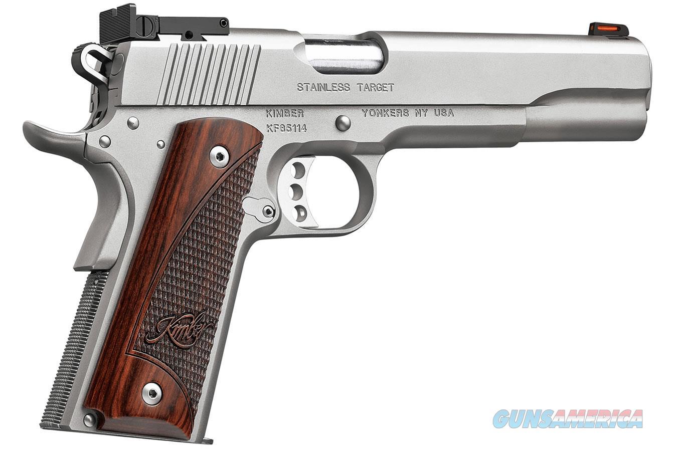 "Kimber Stainless Target LS 10 MM 6""BBL NIB 3000372  Guns > Pistols > Kimber of America Pistols > 1911"