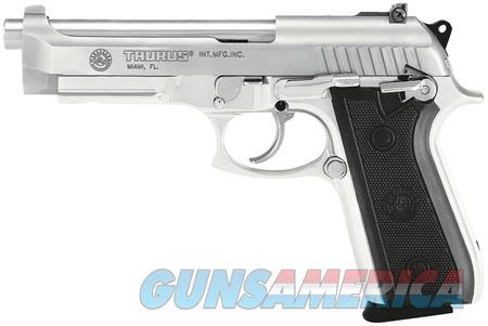 """Taurus 92 FS Stainless 1-920159-17 NIB 9 MM 5"""" BBL  Guns > Pistols > Taurus Pistols > Semi Auto Pistols > Steel Frame"""