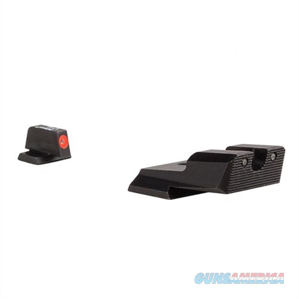 Trijicon HD XR Night Sight Set Orange Front  Smith and Wesson Shield 40 45  Non-Guns > Iron/Metal/Peep Sights