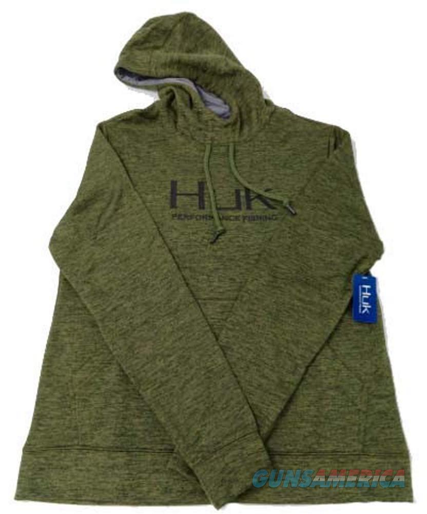 Huk Fleece Hull Hoodie OD Large NEW  Non-Guns > Hunting Clothing and Equipment > Clothing > Shirts