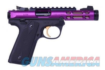 Ruger Mark IV 22/45 Lite 22 LR Purple 43931 NIB  Guns > Pistols > Ruger Semi-Auto Pistols > Mark I/II/III/IV Family