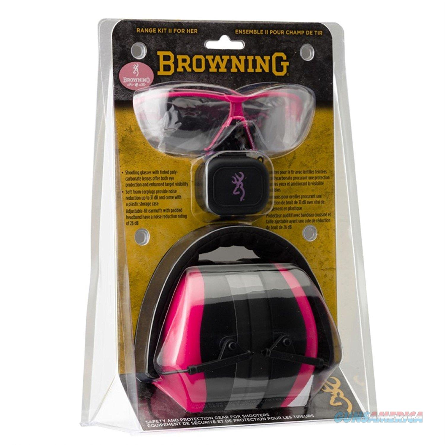 Browning Range Kit II For Her Pink NEW  Non-Guns > Miscellaneous