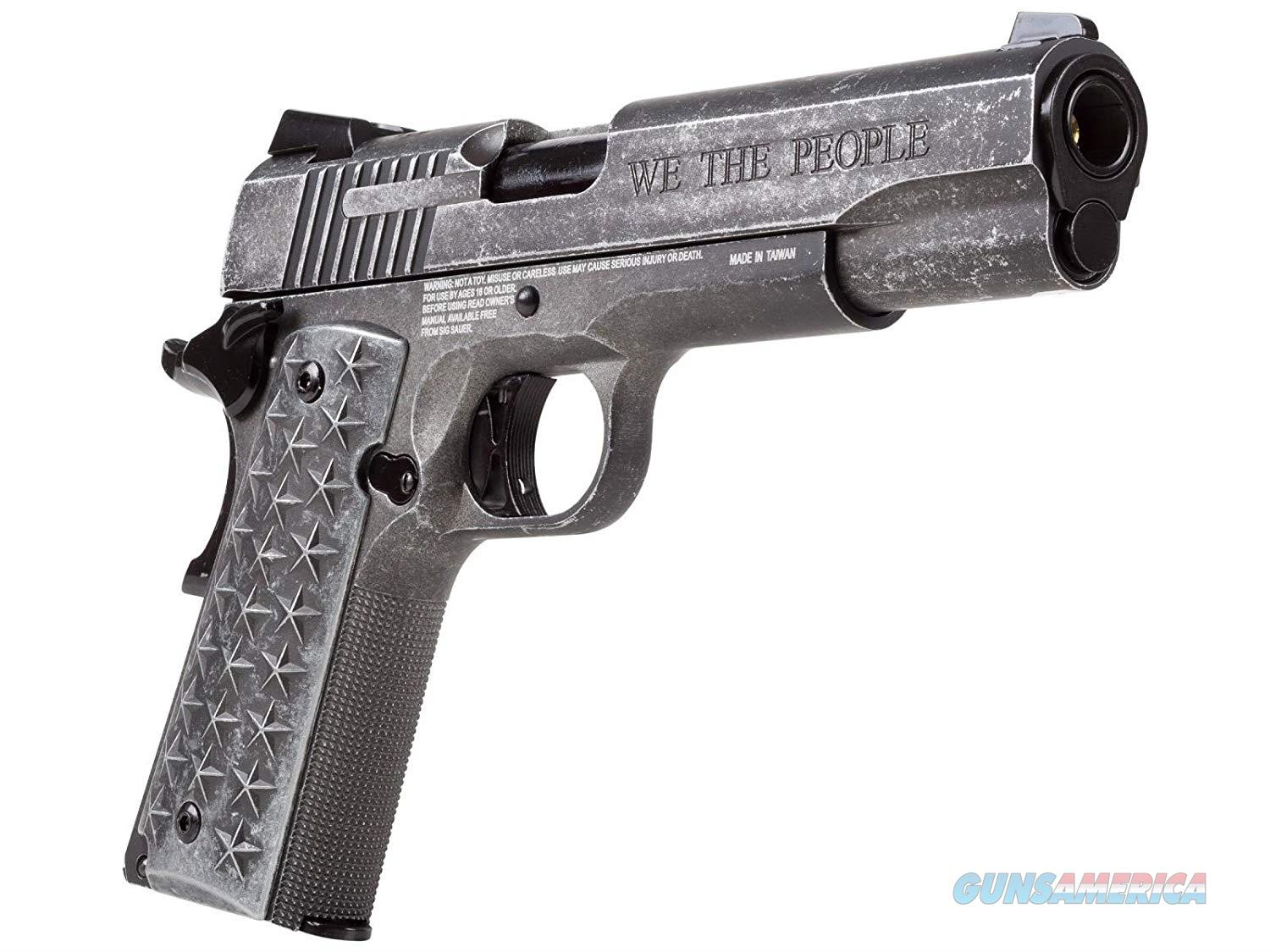 Sig Sauer 1911 We The People Air Pistol, .177 Cal, 17 Round  Non-Guns > Air Rifles - Pistols > Crossman Type Pump