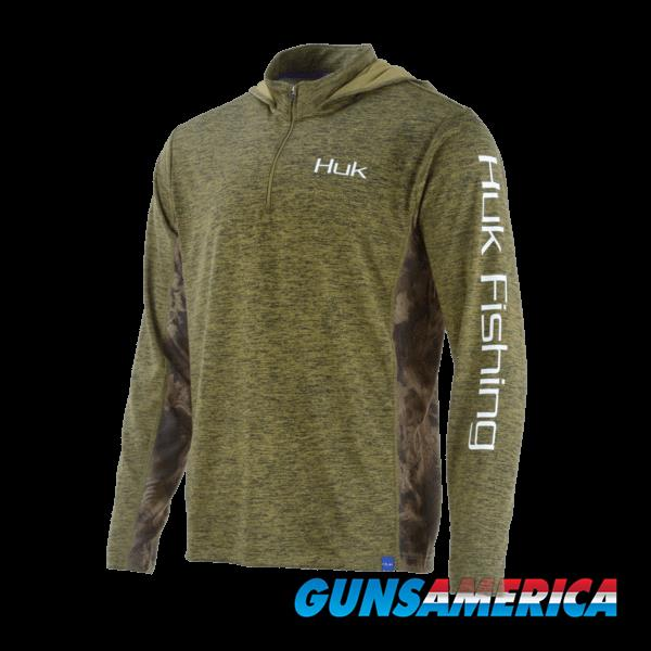 Huk Cold Weather Icon Hoodie Olive MD  Non-Guns > Hunting Clothing and Equipment > Clothing > Shirts