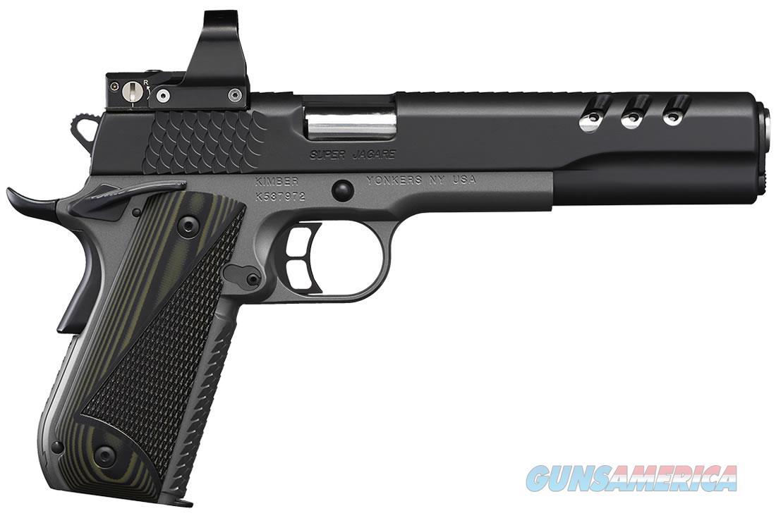 "Kimber Super Jagare 10 MM Leupold NIB 3000278 6""  Guns > Pistols > Kimber of America Pistols > 1911"