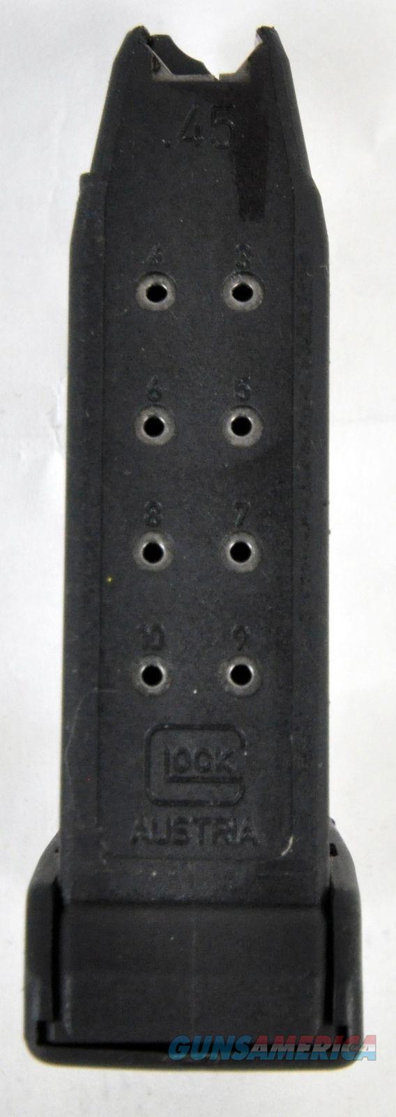 Glock 30 .45 ACP 10 Round Magazine Mag - MF30010  Non-Guns > Magazines & Clips > Pistol Magazines > Glock