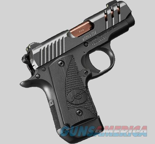 """Kimber Micro 9 Stainless Dn Tfx Pro Sight Hogue: Kimber Micro 9 ESV Gray 9 MM 3"""" BBL NIB 3300204... For Sale"""