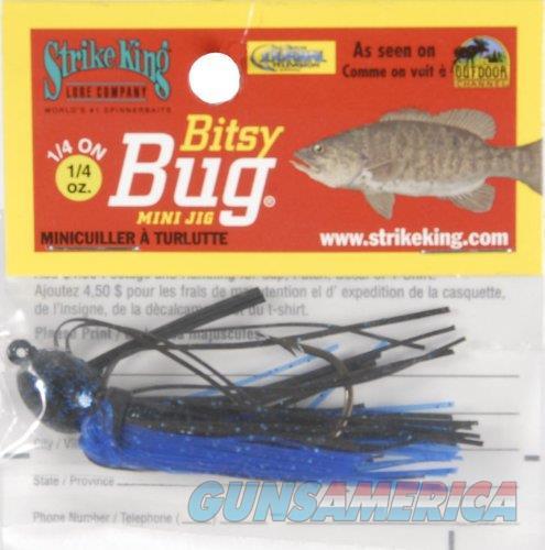 Strike King Bitsy Bug Mini Jig Black Blue  Non-Guns > Fishing/Spearfishing