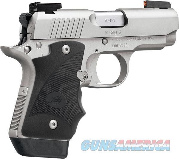 "Kimber Micro 9 Stainless Dn 9mm 3300193 Dk Firearms: Kimber Micro 9 Stainless DN 9 MM 3.15"" NIB 3300... For Sale"