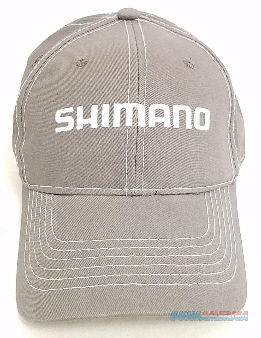 Shimano Adjustable Hat Cap OSFM Gray  Non-Guns > Hunting Clothing and Equipment > Clothing > Hats