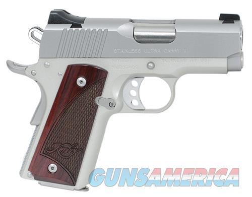 Kimber Stainless Ultra Carry II 9 MM 3200329 NIB  Guns > Pistols > Kimber of America Pistols > 1911