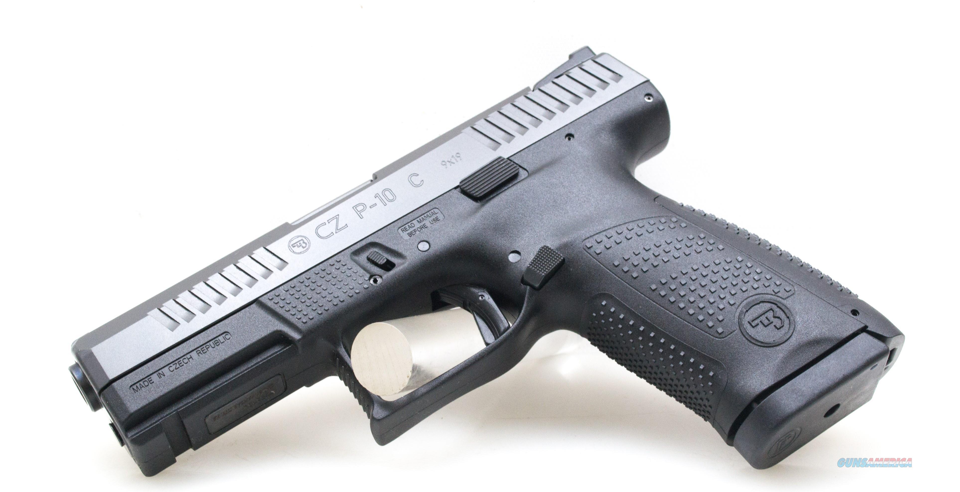 """CZ P-10 Compact 9 MM RMC 4.02""""BBL 91531 NIB 9MM  Guns > Pistols > CZ Pistols"""