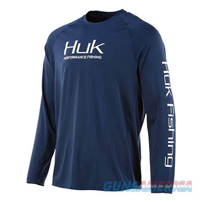Huk Pursuit Vented Long Sleeve Navy MD  Non-Guns > Hunting Clothing and Equipment > Clothing > Shirts