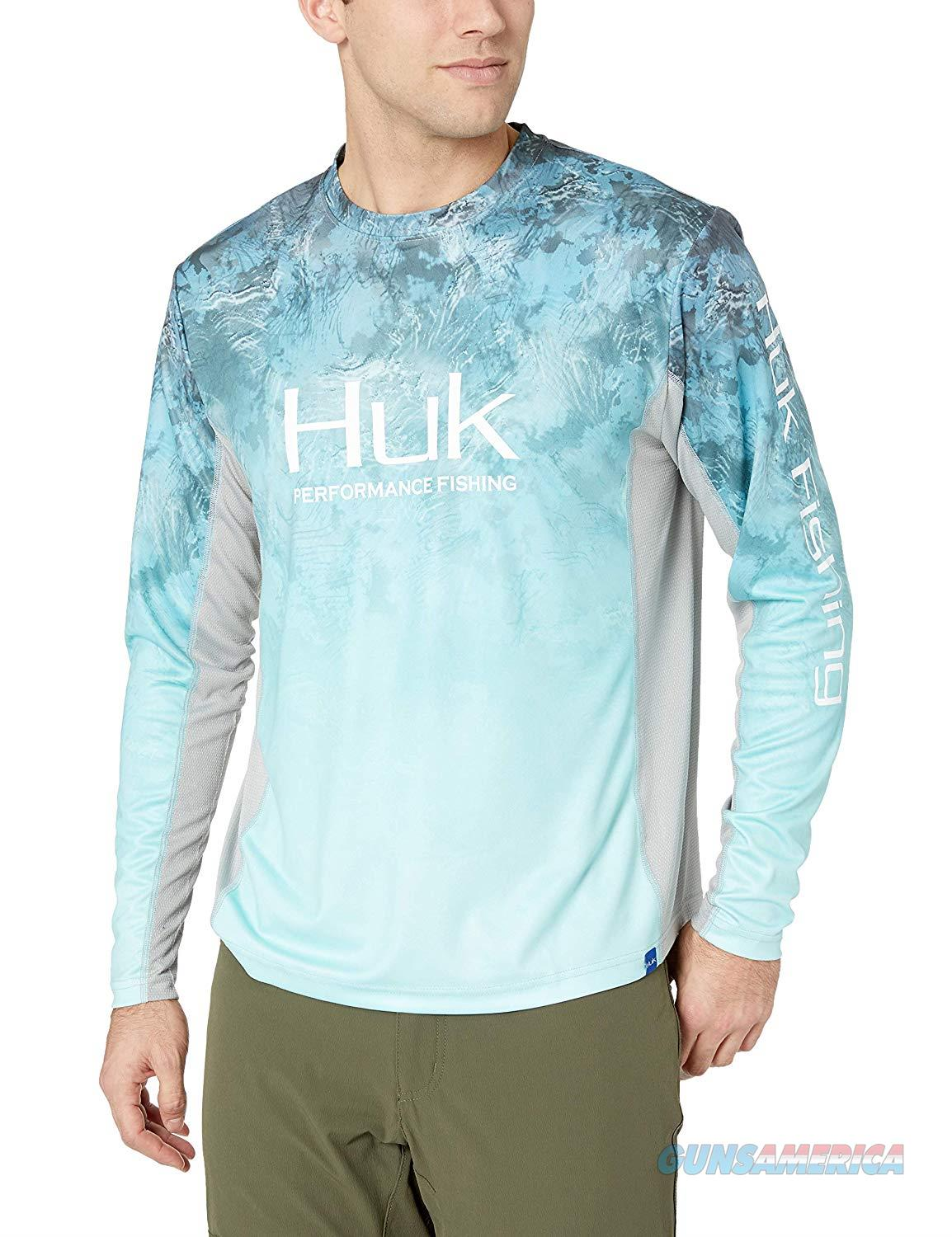 Huk Icon Long Sleeve Glacier XXL  Non-Guns > Hunting Clothing and Equipment > Clothing > Shirts