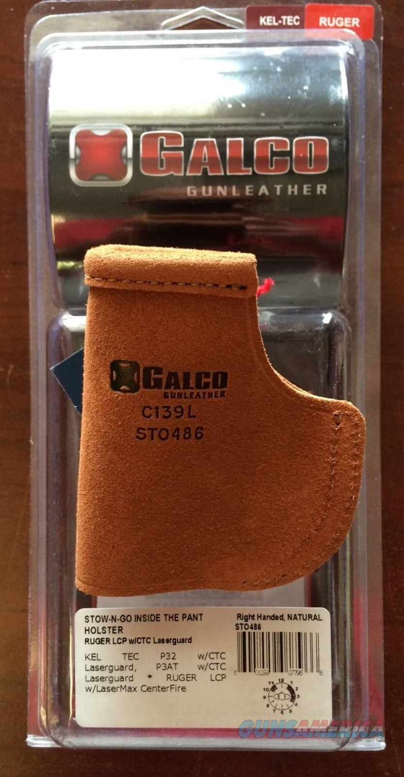 Galco Stow-N-Go Holster Ruger LCP with Laserguard  Non-Guns > Holsters and Gunleather > Concealed Carry