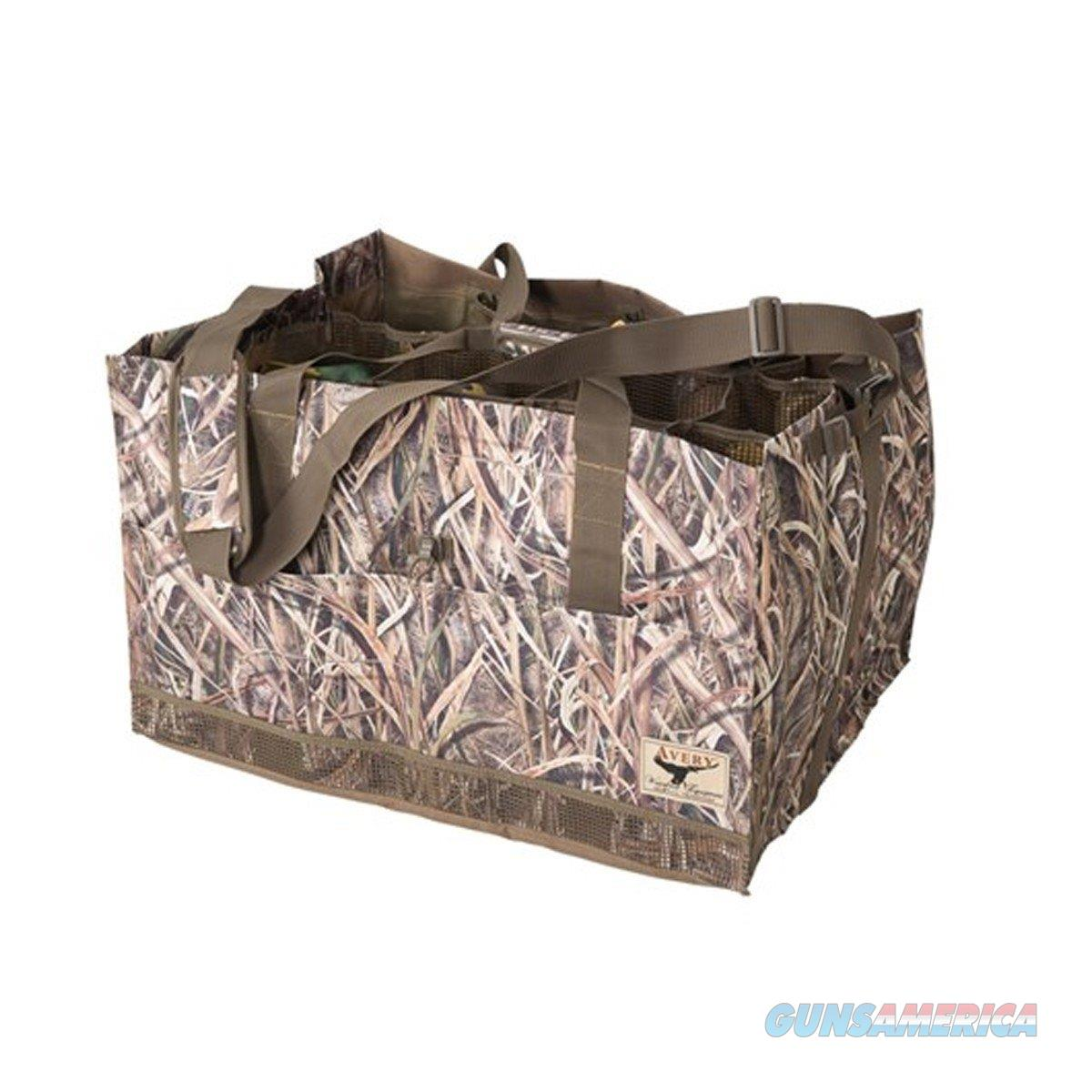 Avery 12 Slot Decoy Bag Blades Camo 00155  Non-Guns > Hunting Clothing and Equipment > Ammo Pouches/Holders/Shell Bags