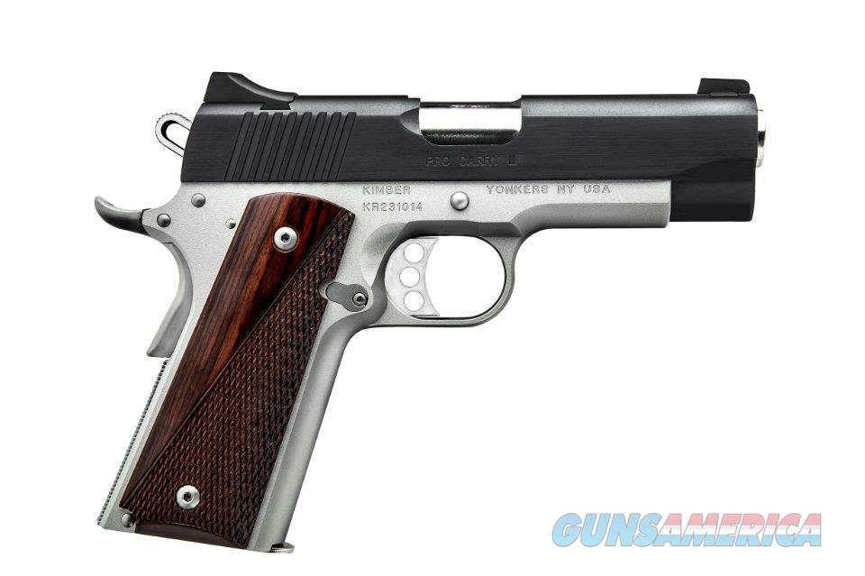"Kimber 1911 Pro Carry II 45 Acp TT 3200320 NIB 4""  Guns > Pistols > Kimber of America Pistols > 1911"