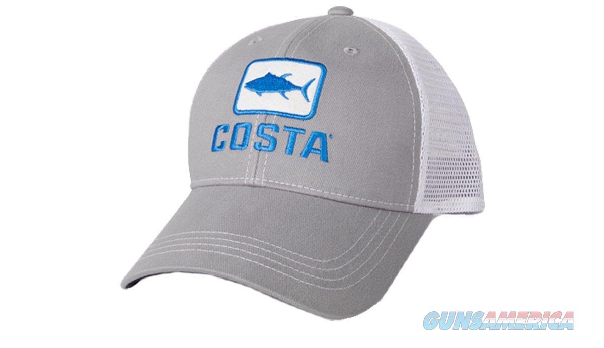 Costa Tuna Trucker Ball Cap Gray  Non-Guns > Hunting Clothing and Equipment > Clothing > Hats