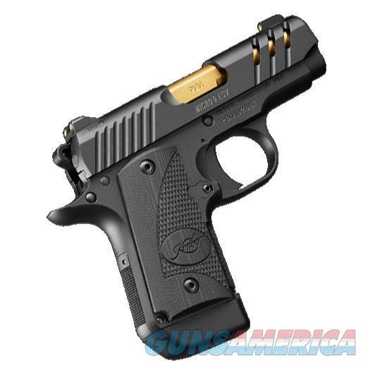"Kimber Micro 9 ESV 9 MM TiN 3300199 NIB 3.15"" BBL  Guns > Pistols > Kimber of America Pistols > Micro 9"